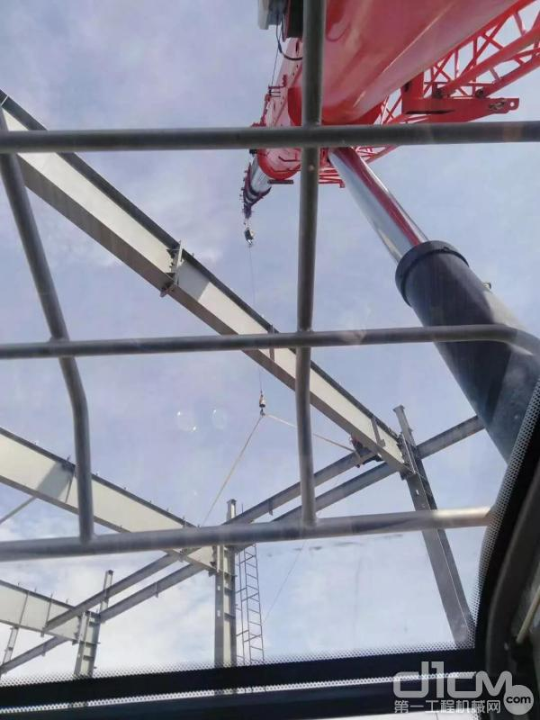 三一起重机吊装作业