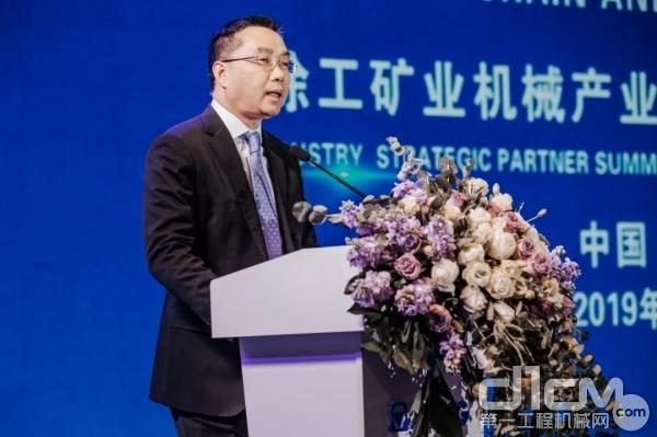 西屋运输系统有限企业中国区总经理杨东平先生讲话