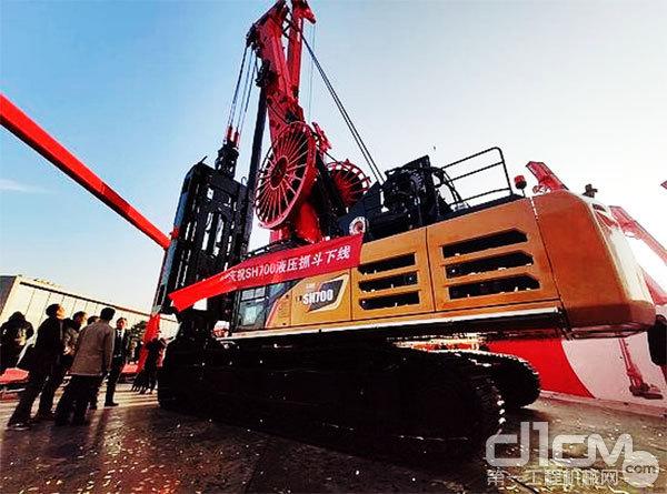 三一全新超大旋挖钻机SR580R