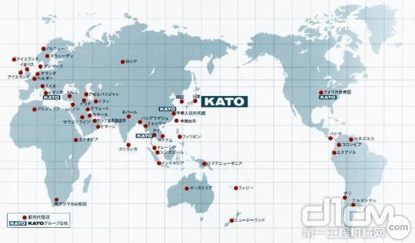 KATO<a href=http://product.d1cm.com/brand/ target=_blank>品牌</a>世界分布