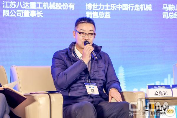 博世力士乐中国行走机械销售总监孟兆光