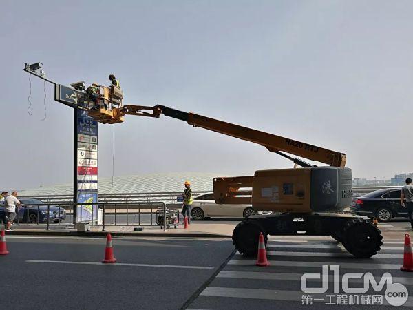助力机场建设