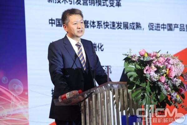 广西柳工机械股份有限企业总裁黄海波