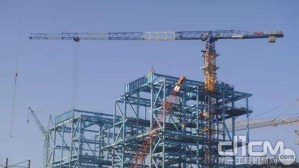 XCP330(7525)在新疆电厂工地