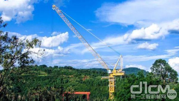 XGTL1600在中国昆明助建国家重点项目——人类首座浮沉动力发电站