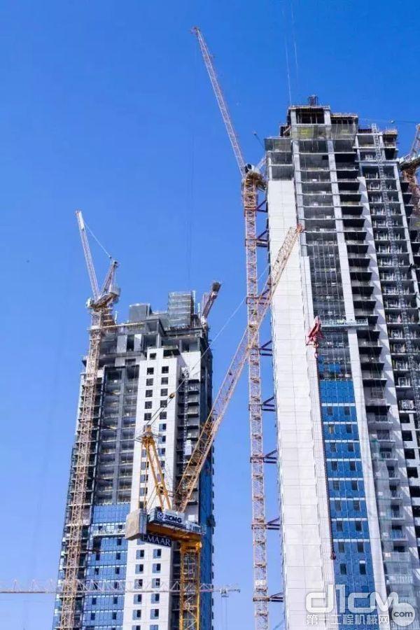 """徐工塔机助建阿联酋迪拜世界第一高楼,助力""""一带一路""""建设"""