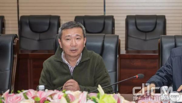张伟涛总经理座谈会讲话
