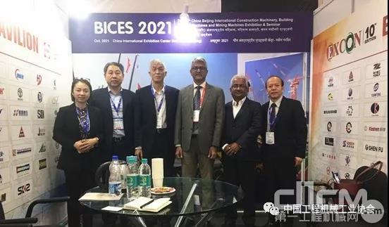 与印度建筑商协会会谈