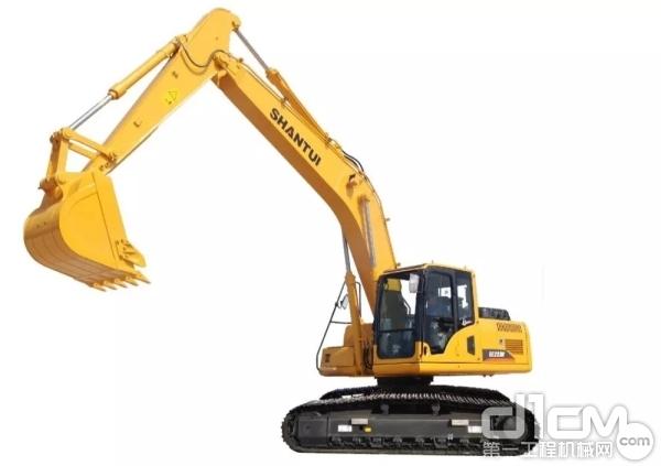 土方能手:山推SE220W挖掘機 更省油 更高效 更環保