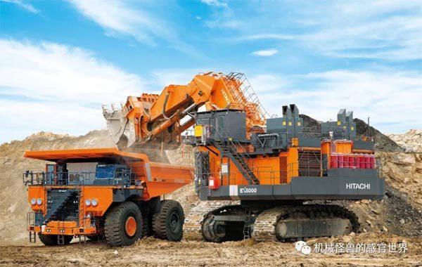 日立建机EX8000-6正铲挖掘机
