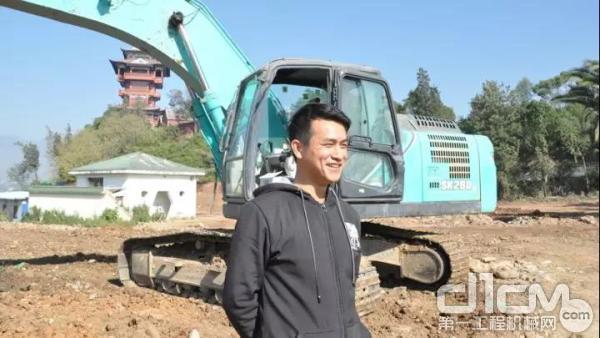 挖机手徐辉