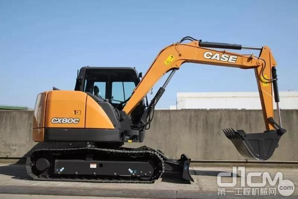 凯斯CX80C<a href=http://product.d1cm.com/wajueji/ target=_blank>挖掘机</a>
