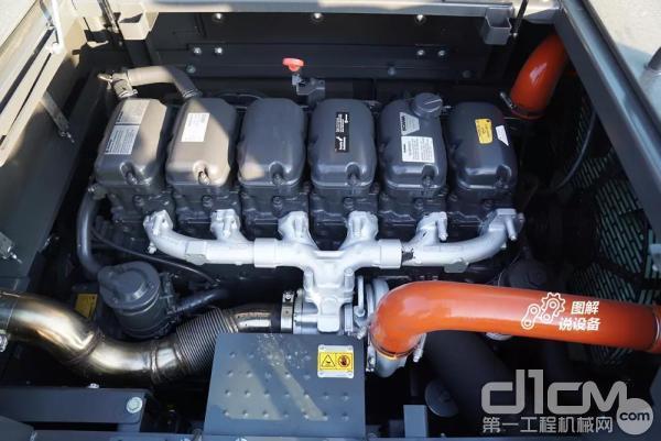 选用斯堪尼亚DC13直列6缸涡轮增压发动机