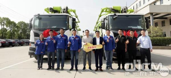 安徽中联九通至今已购买200多台中联重科混凝土设备