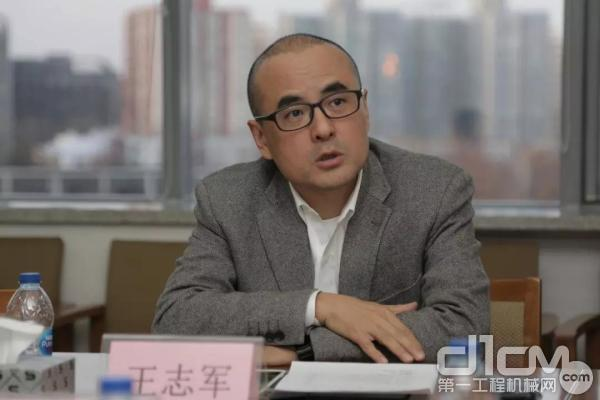 Haulotte欧历胜中国区总经理王志军发言