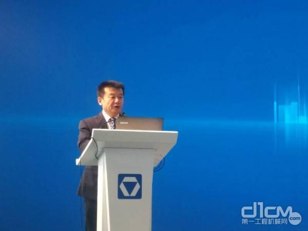 徐工消防党委书记、总经理李前进致辞