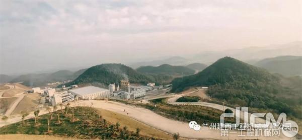 日立建机助力江瑞冶金新材料有限公司打造国家级绿色矿山