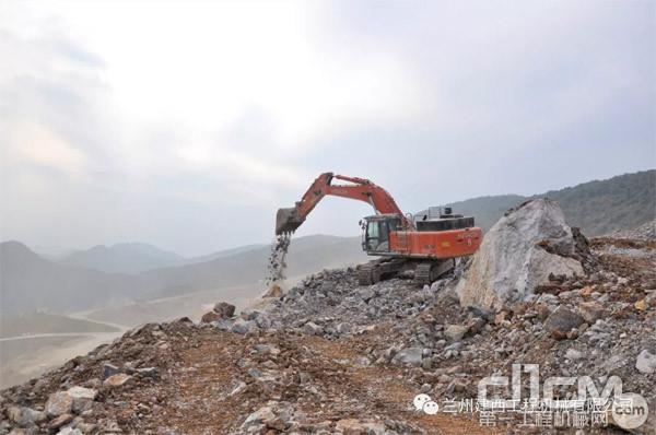 日立建机助力江瑞冶金新材料有限企业打造国家级绿色矿山
