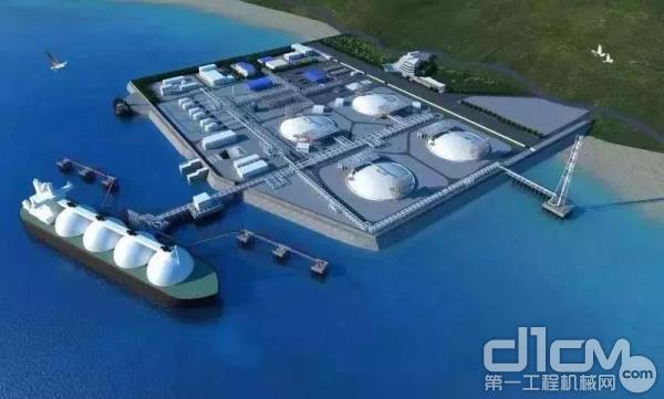 中石油深圳液化天然气—应急调峰站项目接收站工程—下沉式LNG储罐基坑—地下连续墙工程