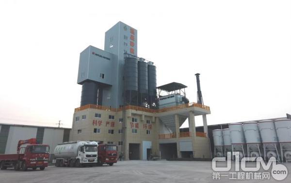 南方路机制砂干混一体设备应用于江苏泓盛