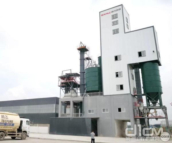 南方路机制砂干混一体设备应用于许昌腾飞