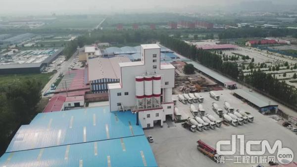 南方路机制砂干混一体设备应用于任丘兴城