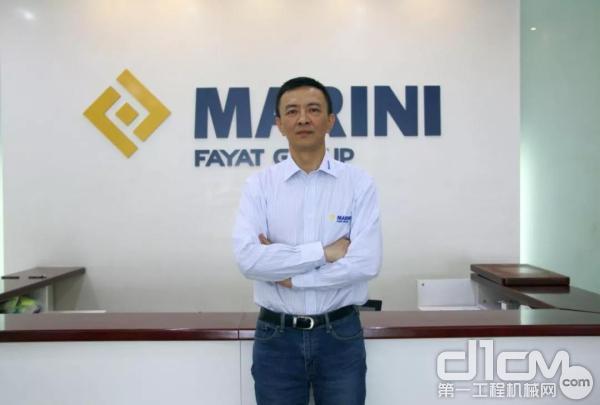 玛连尼(中国)总经理马铁锋