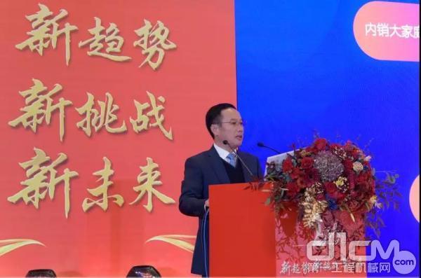 杭叉集团总经理助理、营销总监王国强先生