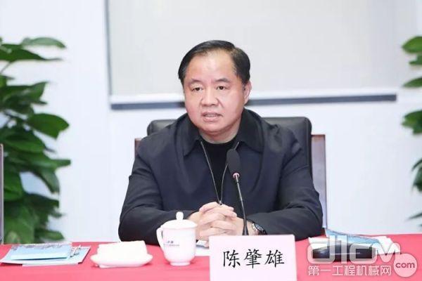 工业和信息化部副部长陈肇雄