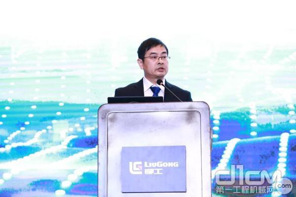 柳工挖掘机营销企业副总经理 龚军尉