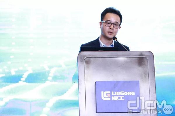 柳州柳工挖掘机有限企业总经理袁世国