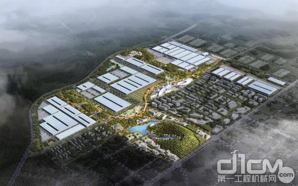 千亿规模中联重科智慧产业城项目启动