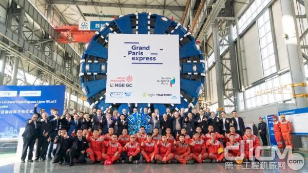 中铁装备两台盾构远赴巴黎修地铁,中国盾构进入全球顶级高端市场