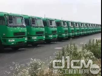 车辆采用汉马国六动力