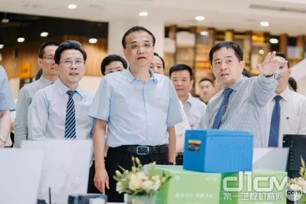 中共中央政治局常委、国务院总理李总理视察三一众创