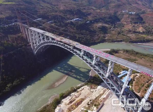 世界最大跨度铁路拱桥
