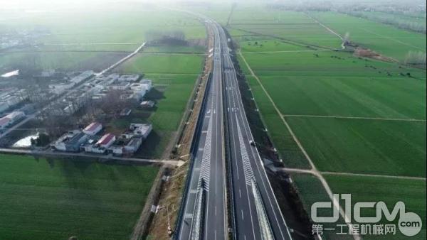 周南、息邢高速公路正式通车