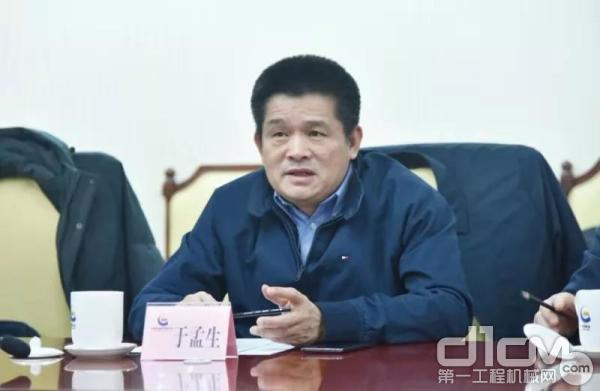 临工集团总裁、临工重机董事长于孟生