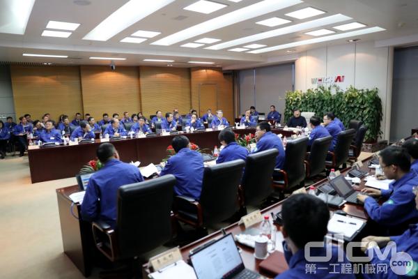 谭旭光在潍坊本部主持召开潍柴2020年预算专题会