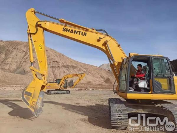 挖掘机测试
