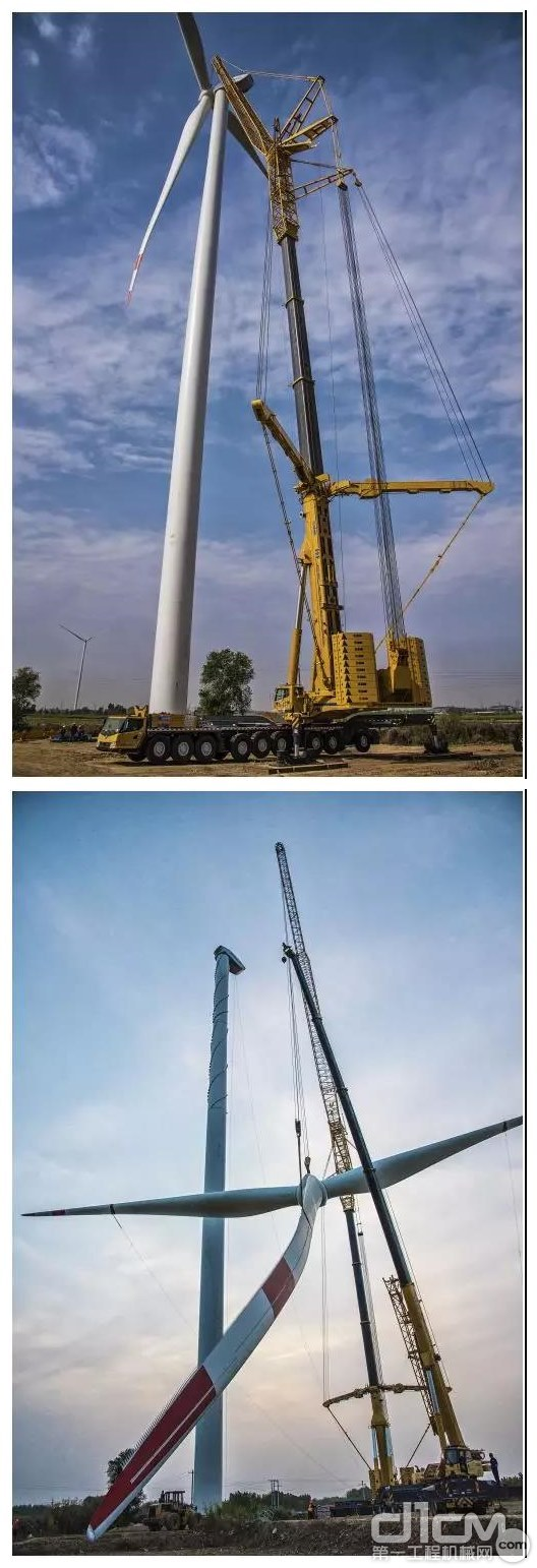 全球风电第一吊XCA1600