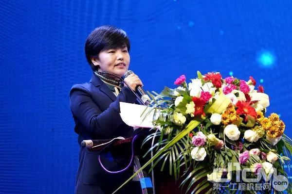 企业党委副书记、纪委书记、工会主席赵蔚致欢迎词
