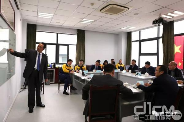 成工重工董事长朱文彪先生与安能集团领导一行交流