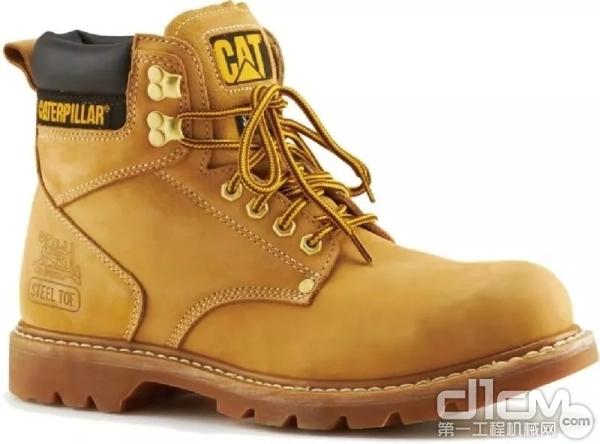 卡特彼勒大黄靴