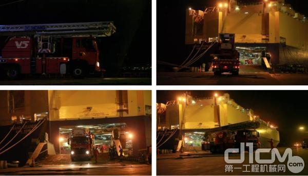 16台消防车安全抵达乌克兰