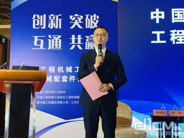 杭州前进齿轮箱集团股份有限企业党委副书记、副总经理侯波