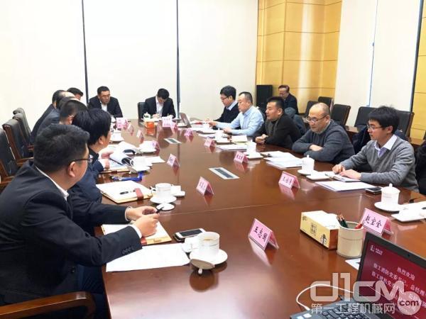 徐工消防组团拜访中石化十企业与裕龙石化