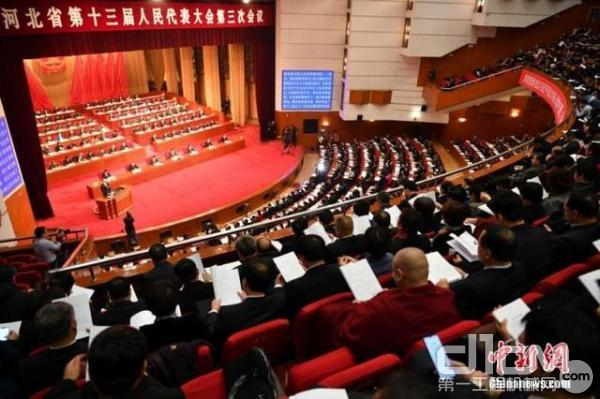 河北省第十三届人民代表大会第三次会议在石家庄开幕