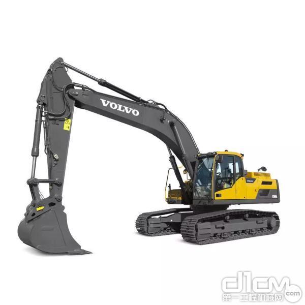 EC300DL履带式挖掘机