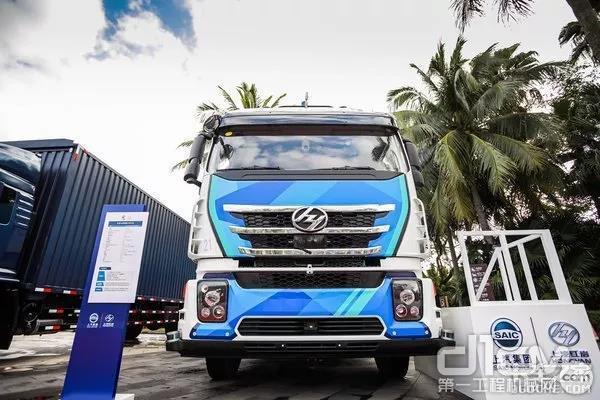 该产品是上汽集团联合上海港,以及中国移动强强联手同步开发